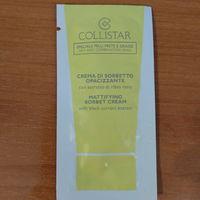 Пробник collistar крем сорбат для лица матирующий