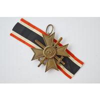 Крест военных заслуг с мечами. Оригинал. Арт 20
