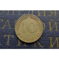 10 пфеннигов 1970 (D) Германия ФРГ #02