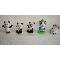 Киндер мишка Панда (в наличии No2)