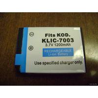 Аккумуляторная батарея для фотоаппарата Kodak (мод. KLIC-7003)