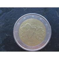 2 евро Финляндия 2008