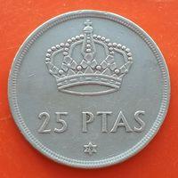 25 песет 1975 ИСПАНИЯ