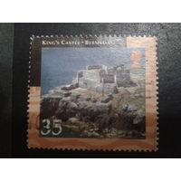 Бермуды, колония Англии 2001 развалины крепости
