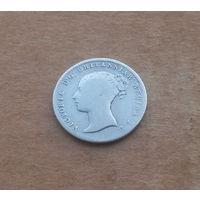 Великобритания, 4 пенса 1854 г., серебро, Виктория (1837-1901)