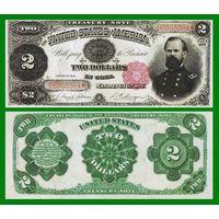 [КОПИЯ] США 2 доллара 1891 г.