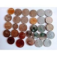 Монеты Индии с рубля.