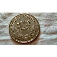 100 эскудо 1989.с рубля