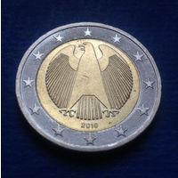 Германия 2 евро 2016 A