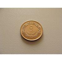 Ливия. 5 дирхамов 1975 год  KM#13