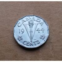 Канада, 5 центов 1945 г., Георг VI (1936-1952)