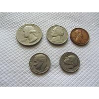 Монеты США.