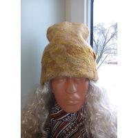 Молодежная шапочка из шерсти