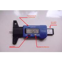 Цифровой измеритель протектора шин (торм.колодок), цену снизил (!).