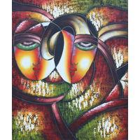 Картина маслом 141 маски 50х60