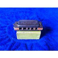 Старинная губная гармошка мини. KONIG Zwerg (гном). Германия