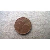 Латвия 5 евроцентов, 2014г.