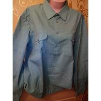 Рубашка мужская, с длинным рукавом, военная. р. 43