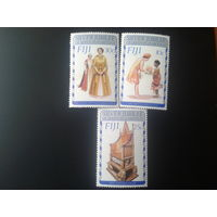Фиджи 1977 25 лет регенства королевы полная серия