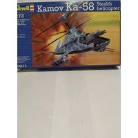 Вертолет-невидимка Камов Ка-58 в масштабе 1:72