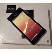 Телефон Sony Xperia V LT25i, белый. 20 руб.