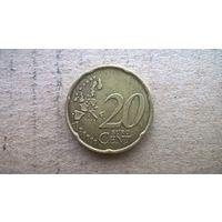 Италия 20 евроцентов, 2002г. (D-18)