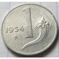 Италия 1 лира, 1954       ( К-2-2 )