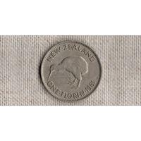 Новая Зеландия 1 флорин 1961 /Елизавета/фауна/ //(GB)/