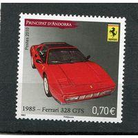 Андорра французская. Автомобиль Феррари 328 (1985 год)