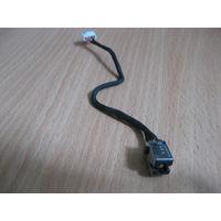 Toshiba C850 разъем зарядки