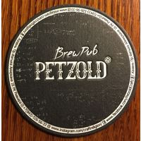 """Подставка под пиво """"Petzold brewpub"""" /Казань, Россия/ No 2"""