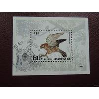 Блок Корея 1992. Птицы