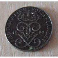 1 эре Швеция 1950 г.в. KM# 810, ORE, из коллекции