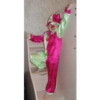 Костюм карнавальный Петрушка, Клоун и др. Разные размеры. Новый в упаковке. Недорого!