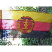 Новый флаг ГДР из очень качественной,прочной ткани .Размер 80*150. оригинальный.