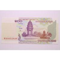 Камбоджа, 100 риелей 2001 год, UNC