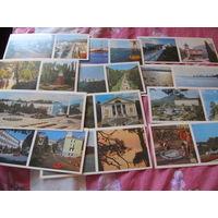 Набор открыток СССР Туапсе