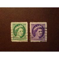 Канада 1954 г.Елизавета -II.