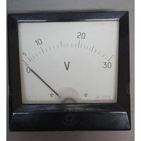 Вольтметр Э-378 1970 г, 0-30V