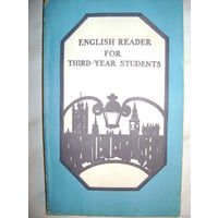 English Reader For Third-Year Students