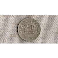 Колумбия 200 песо 1996 //(GB)/