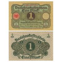Германия. 1 марка 1920 г. [P.58] UNC