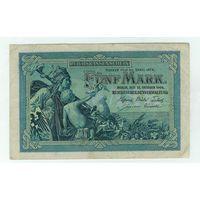Германия, 5 марок 1904 год