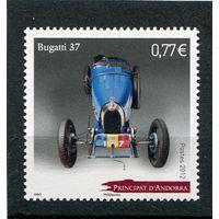 Андорра французская. Автомобиль Бугатти 37 (1926 год)