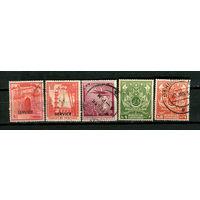 Пакистан - 1951-1961 - 5 марок. Гашеные. Старт с 5 коп. (Лот 20S)