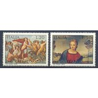 Италия 1970 Живопись. Рафаэль, 2 марки