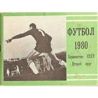 """Календарь-справочник Москва (""""Московская правда"""") 1980 - 2 круг"""
