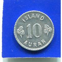 Исландия 10 эйре 1970