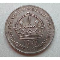 Австралия. 1 крона 1937 года. Копия