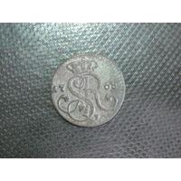 Грош САП 1768 год в сохране